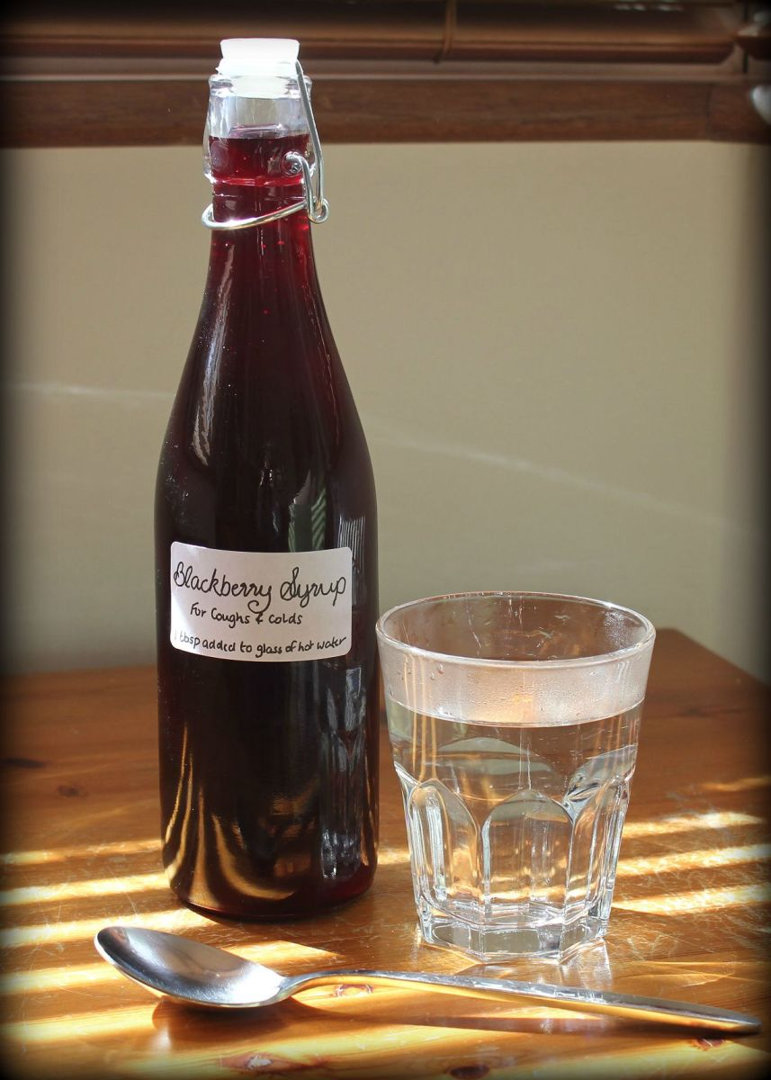 Blackberry Syrup: A Natural Cold Remedy