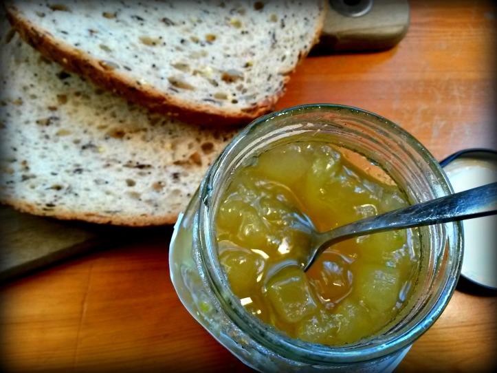 Marrow & Ginger Jam