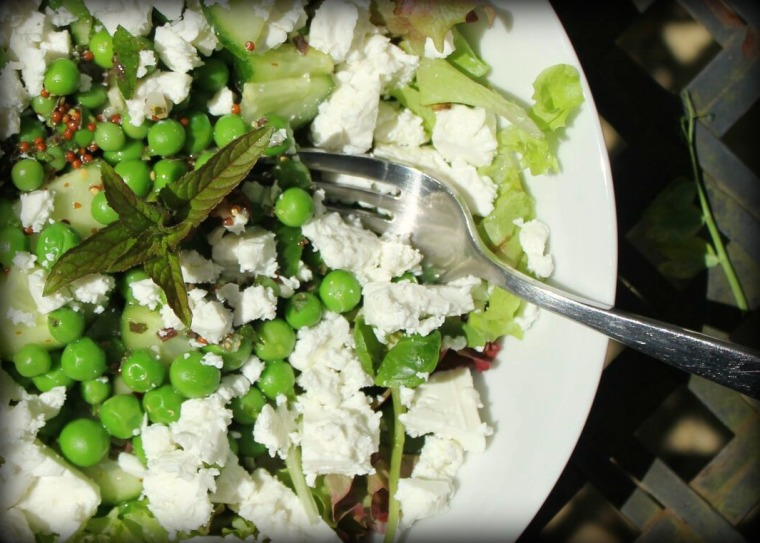 Pea, Mint & Feta Salad 2