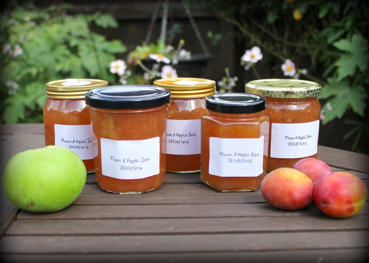 Plum & Apple Jam 16