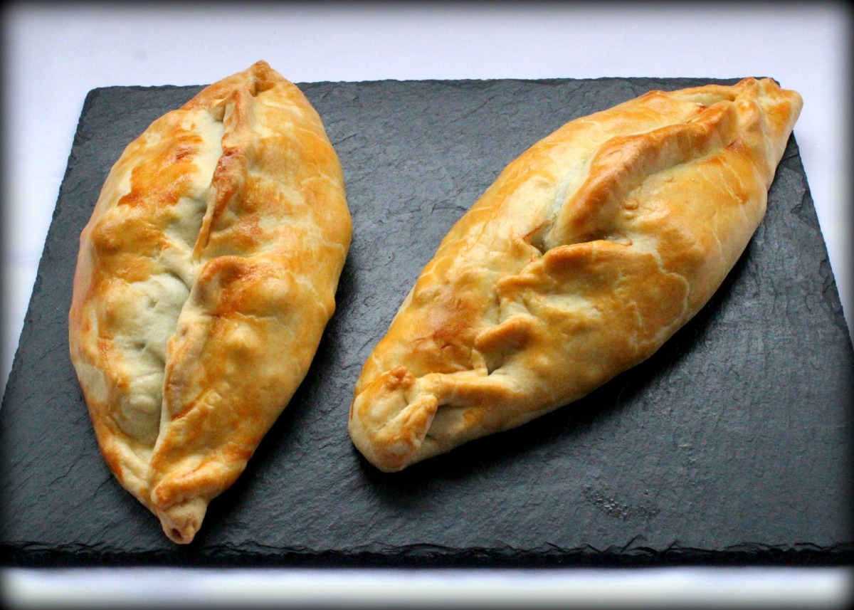 Chard and Potato Pasties