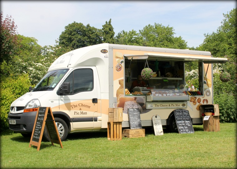 The Cheese & Pie Man at Woburn Abbey Garden Show