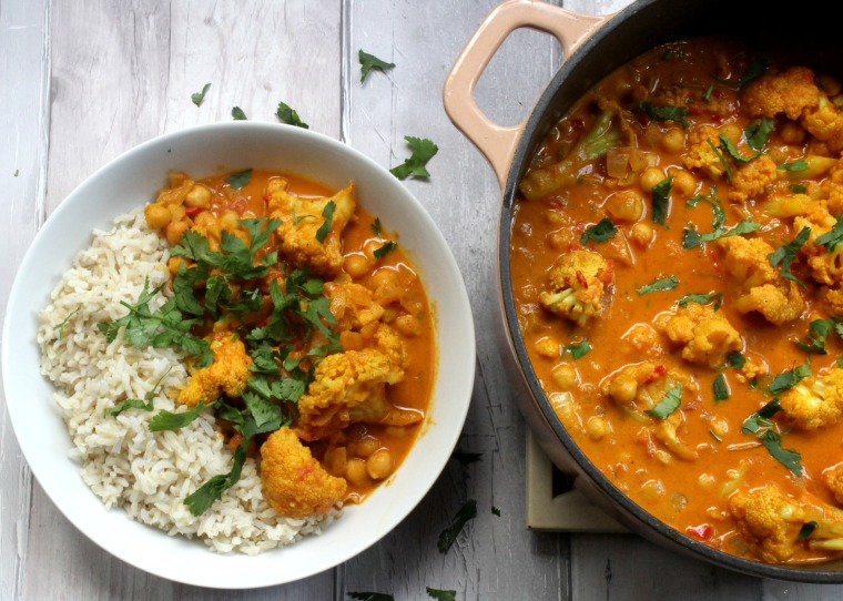 Cauliflower & Chickpea Curry